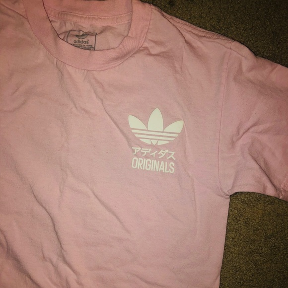adidas shirt small logo